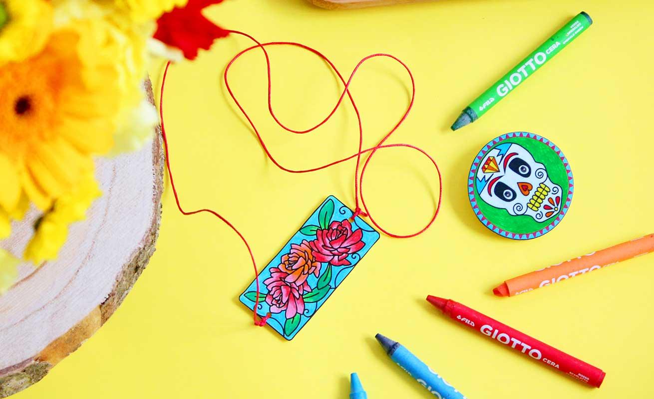 Bijoux en plastique créatif