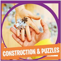 Puzzles et jeux de construction