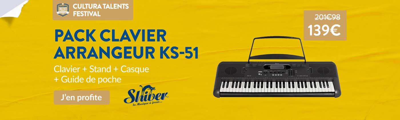 Promo clavier arrangeur Shiver