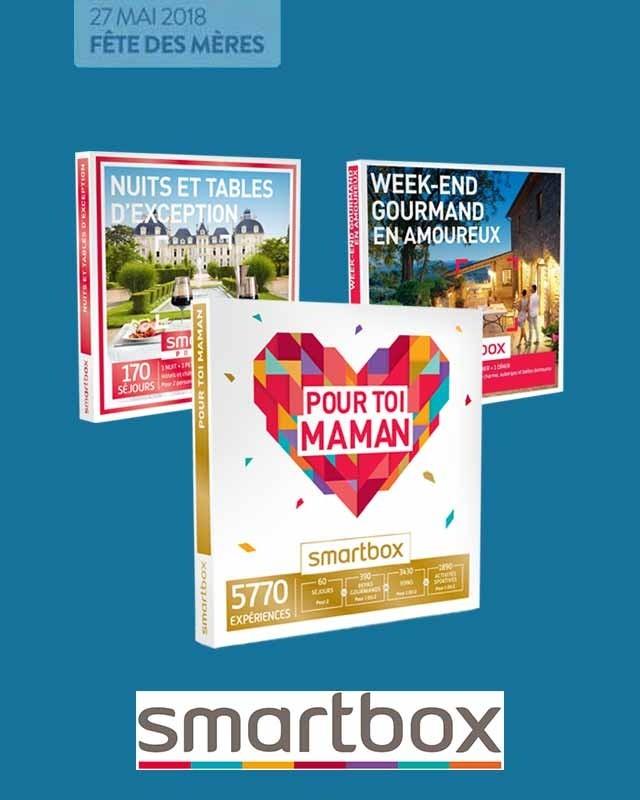 Offre Fête des Mères Smartbox