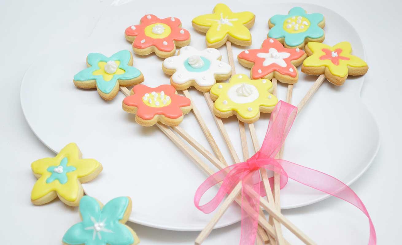 Biscuits fleuris