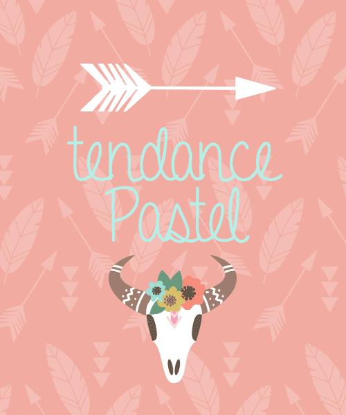Tendance pastel