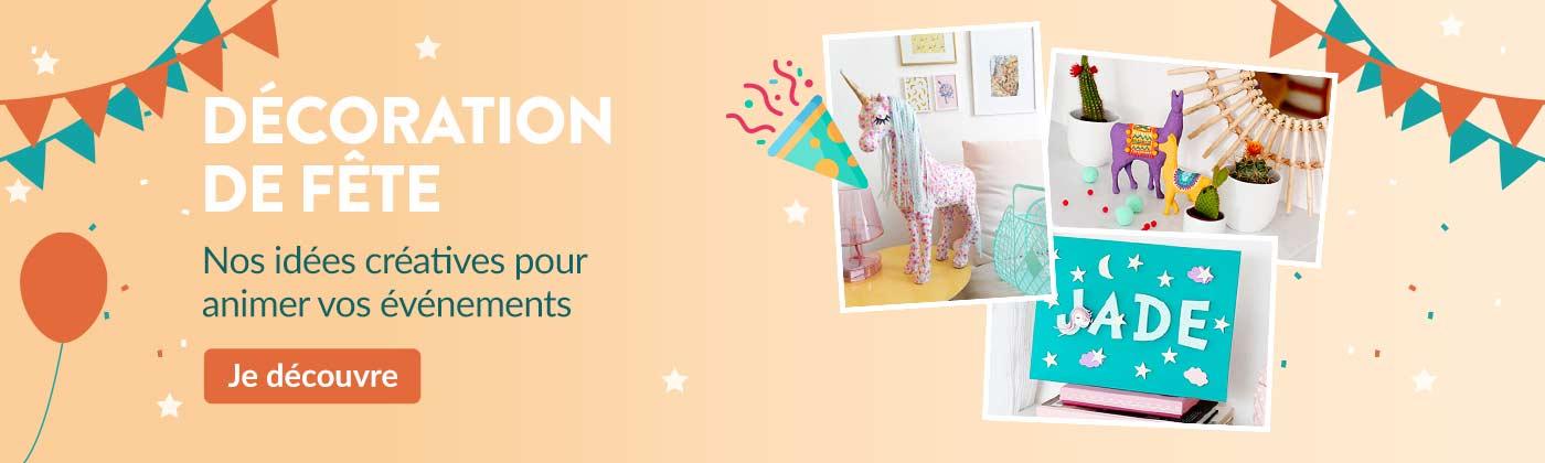 Catalogue Loisirs Créatifs : fête - anniversaire