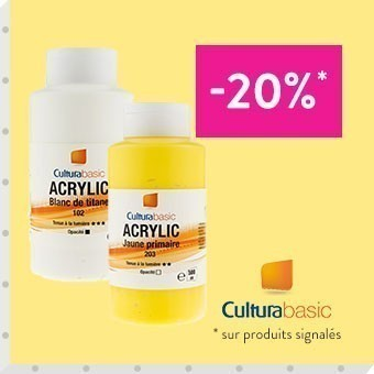 Promotion acrylique cultura 500ml