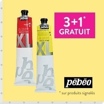 Promotion huile XL Pebeo