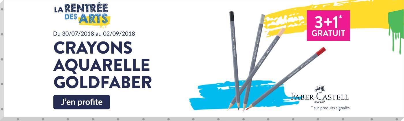 promotions crayon aquarelle