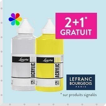 Promotion Acrylique lefranc bourgeois 750ml