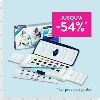 Promotions coffrets aquarelle