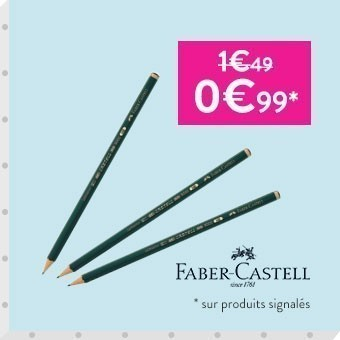 Promotion Crayons Castell 9000