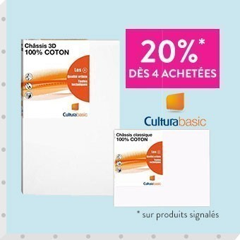 Promotion Toiles Cultura