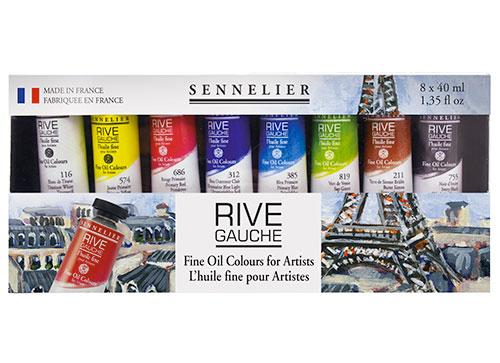 Set peinture à l'huile Sennelier