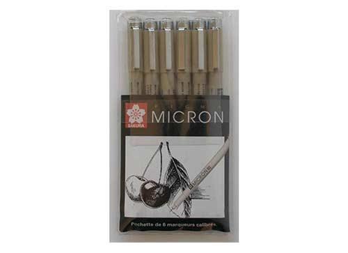 Set stylos pigma micron