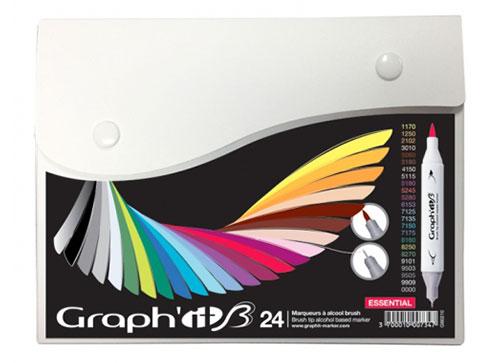 set marqueurs graph'it brush