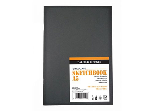 sketchbook A5 20 feuilles