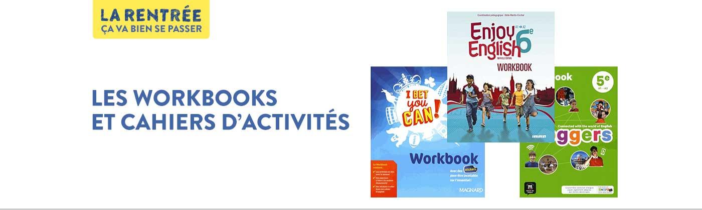 Les workbooks de la rentrée scolaire