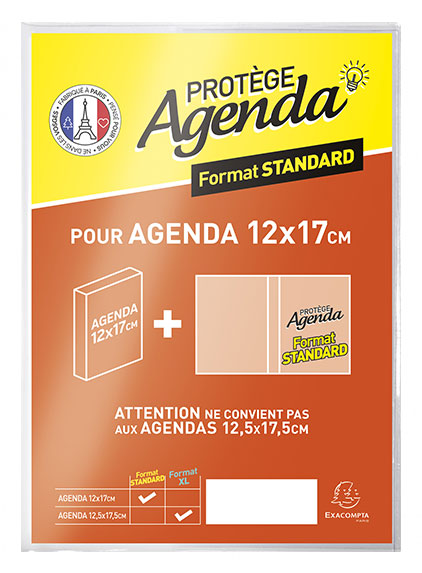 protège agenda A4