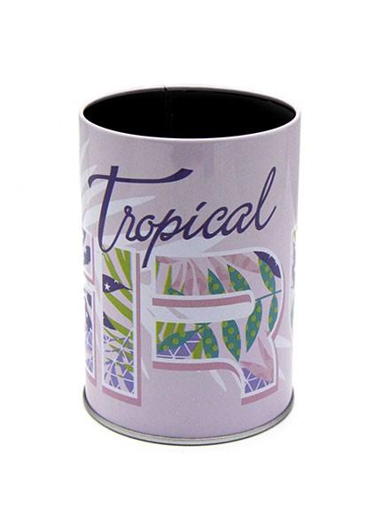 pot à crayon metal tropical graphique