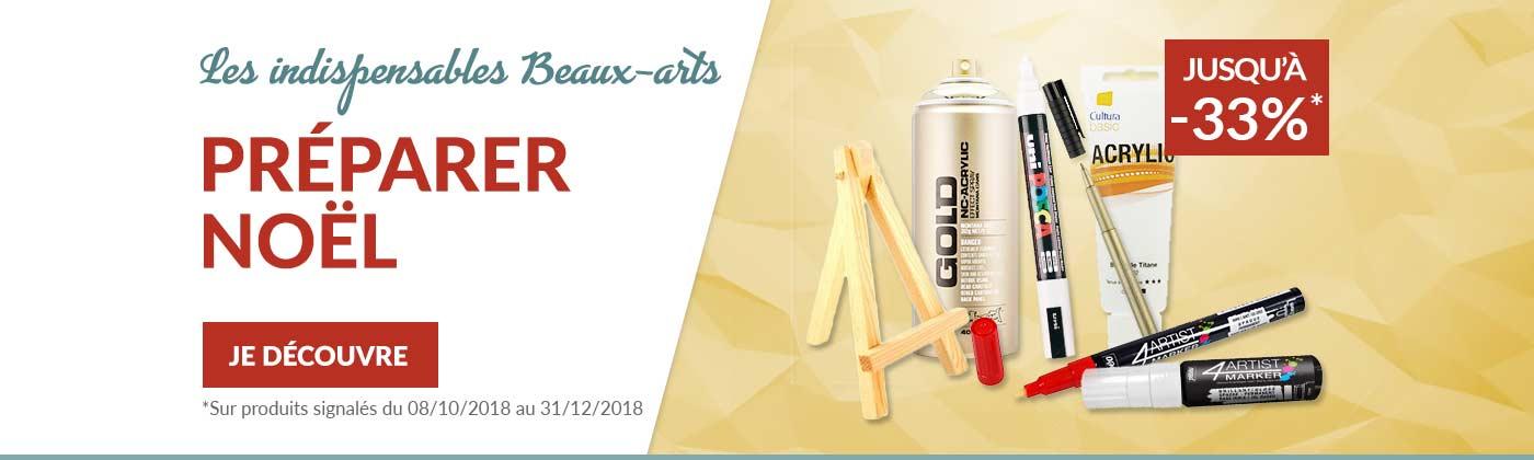 Promotions Noël beaux arts