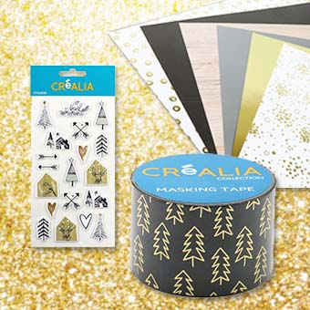 Blocs papiers, Stickers & Masking tape