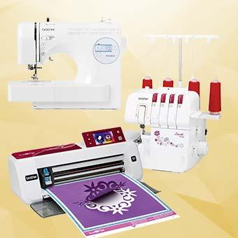 Machines à coudre & découpe tissu