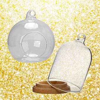 Cloches & Supports en verre