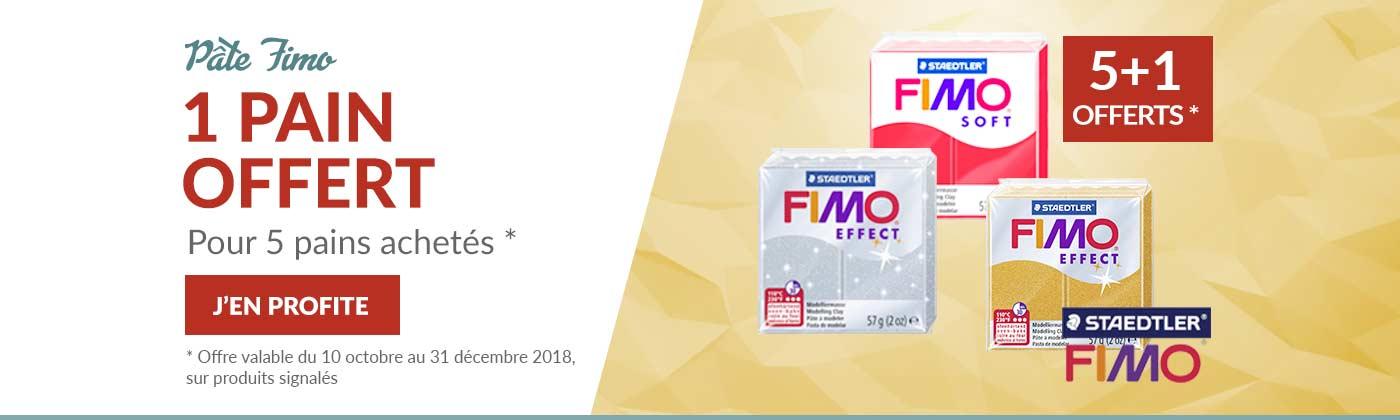 Pâte FIMO en promo