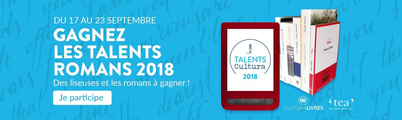 Gagnez une liseuse avec notre jeu concours Talents Cultura
