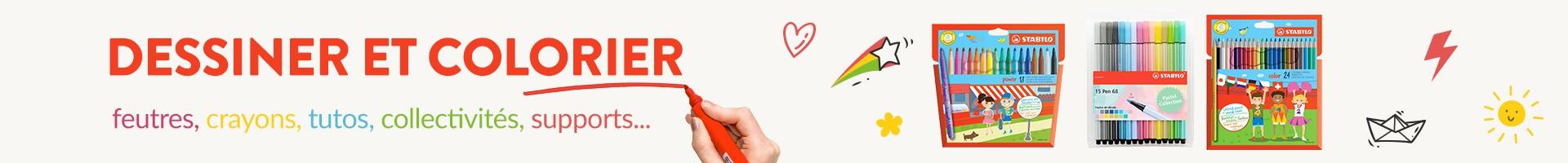 Dessiner et colorier