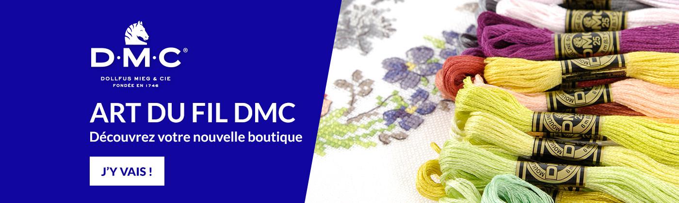 Je découvre la boutique DMC
