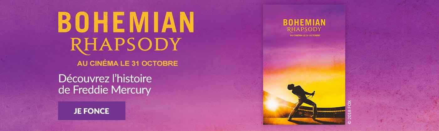 Découvrez la boutique Bohemian Rhapsody