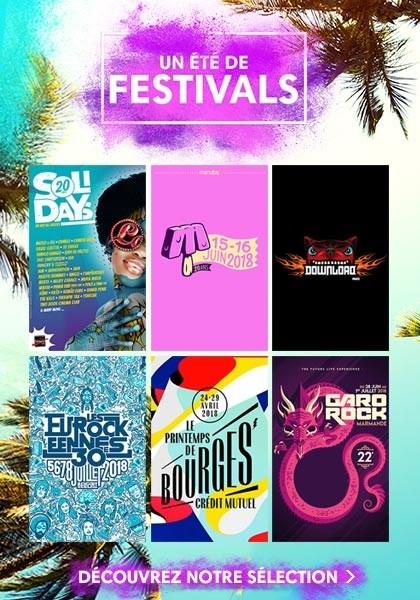 Découvrez notre boutique billetterie spécial Festivals d'été.