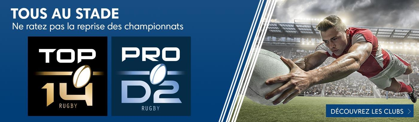 Reprise de la saison de Rugby