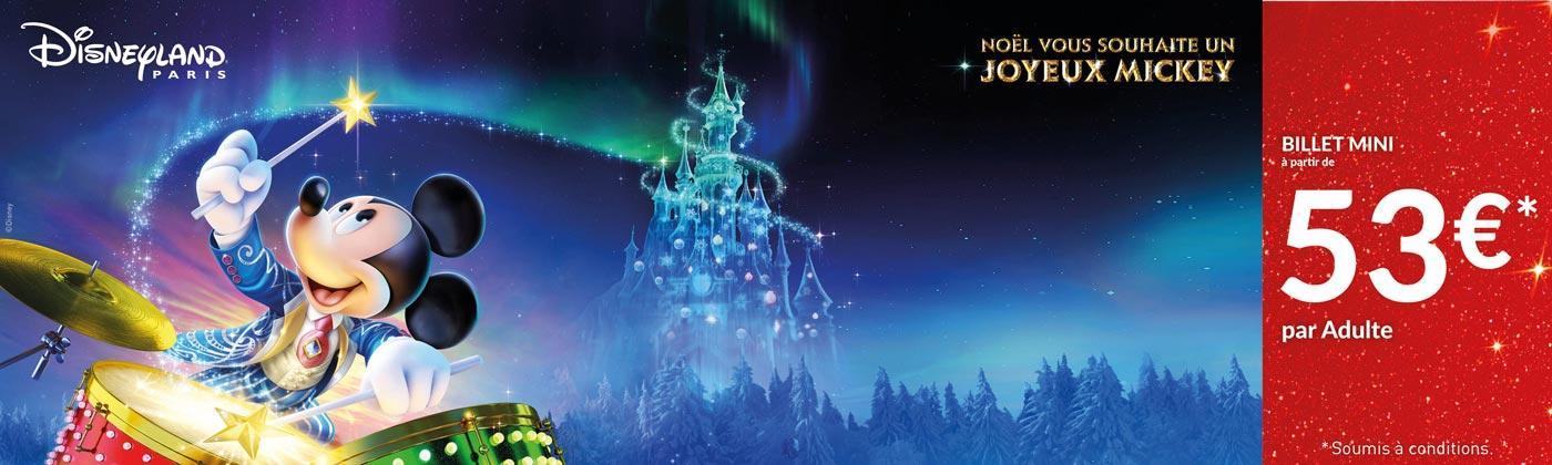 Noël vous souhaite un Joyeux Mickey
