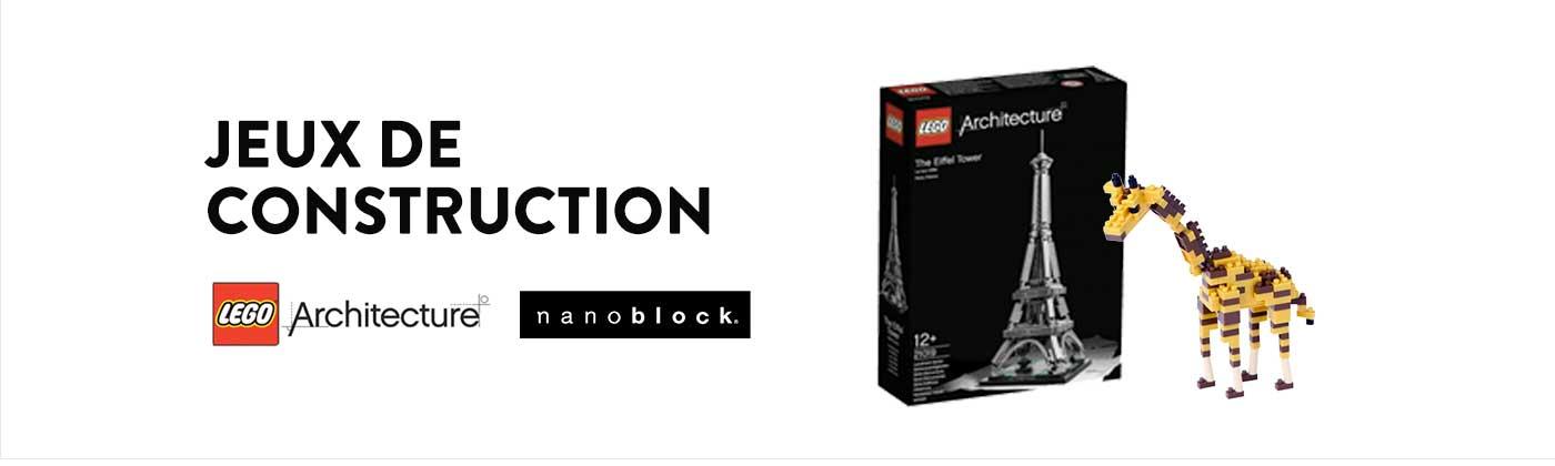 jeux de construction coffrets cadeaux cadeaux id es cadeaux cultura. Black Bedroom Furniture Sets. Home Design Ideas
