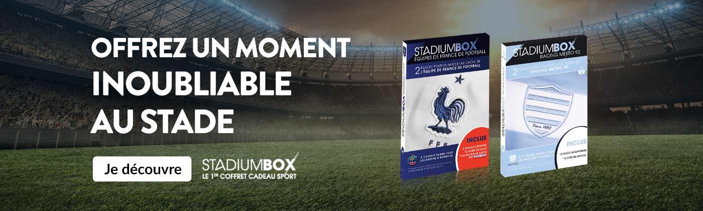 Avec Stadiumbox offrez un moment inoubliable au stade