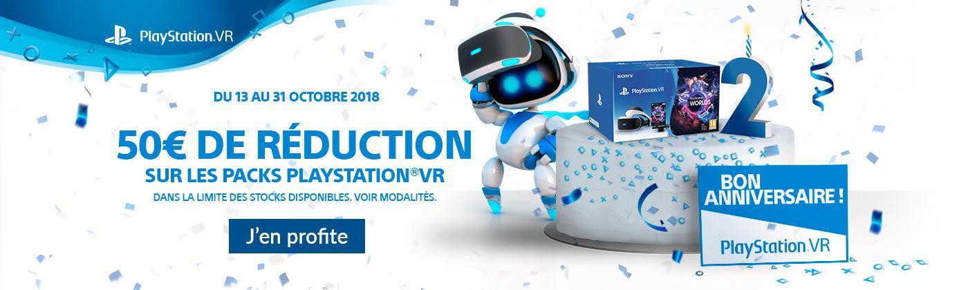 Profitez d'une remise de 50€ sur le casque PS VR