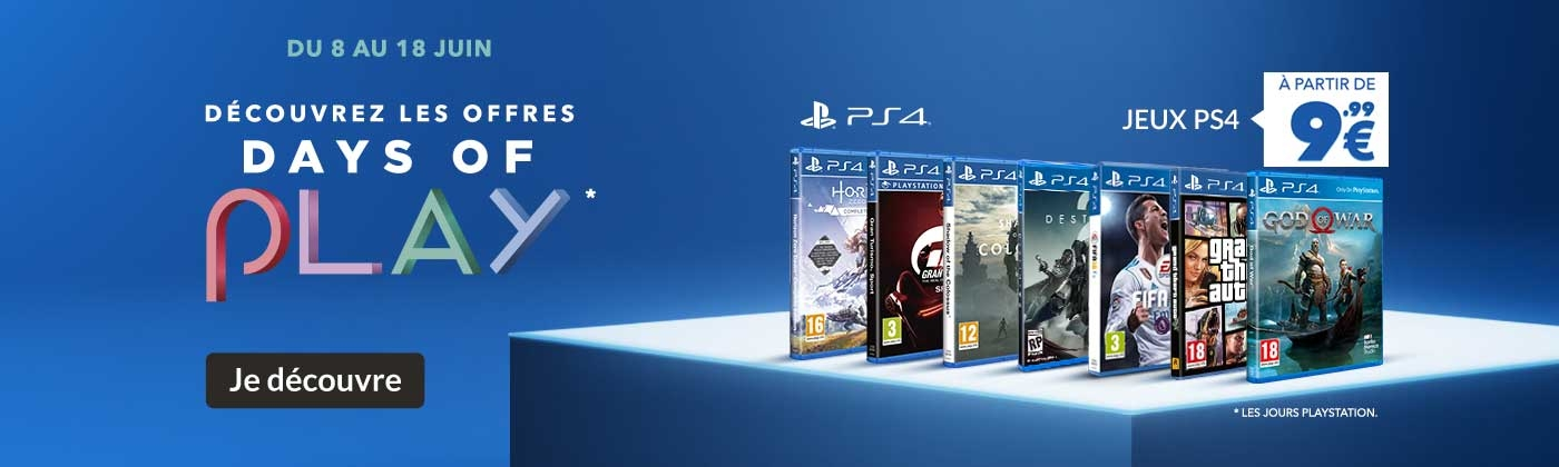 Promotions PS4