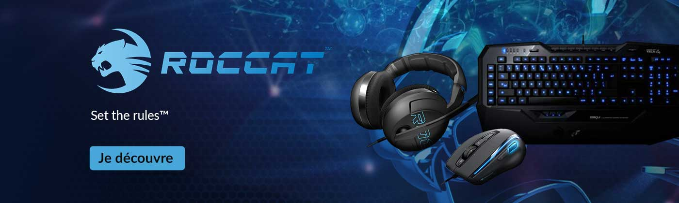 Accessoires Gaming Roccat