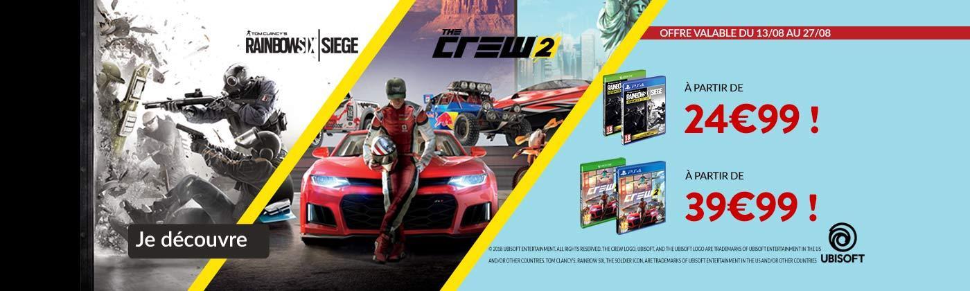 Baisse de prix jeux Ubisoft