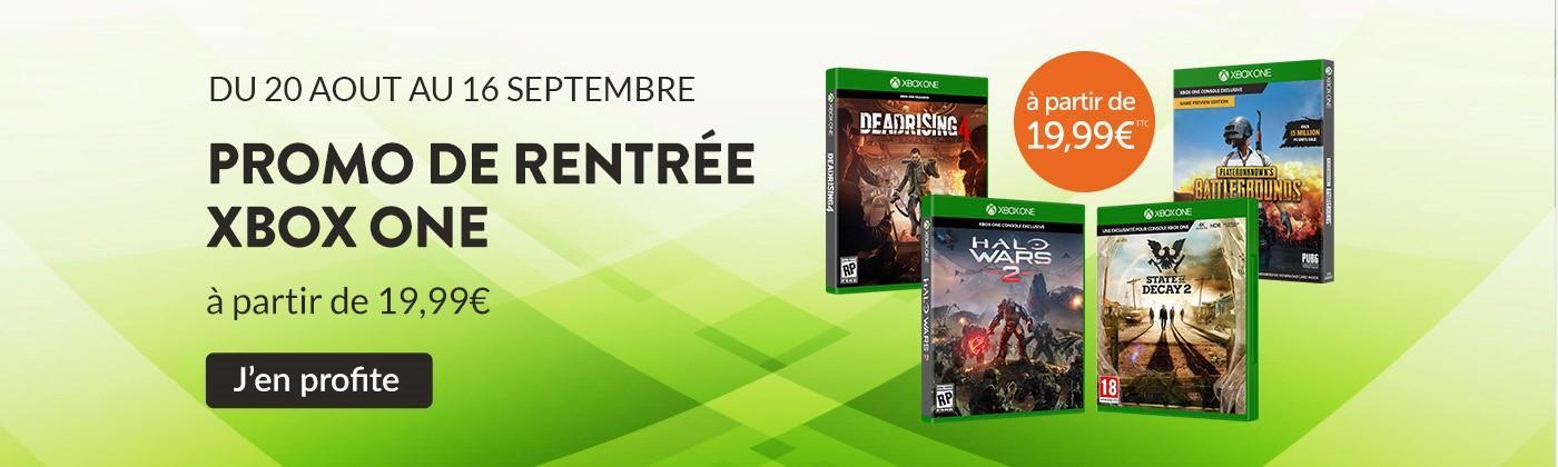 Bon plan: Jeux Xbox One