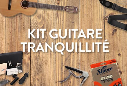 Pack Guitare tranquilité