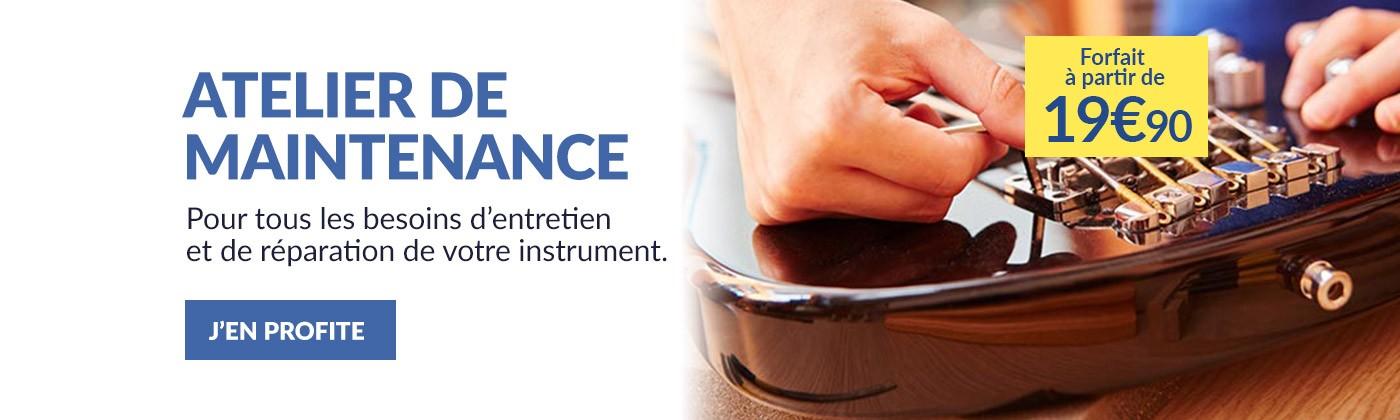 Entretien et réparation Instruments de musique
