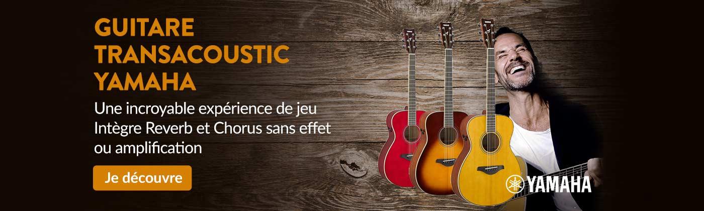 guitare Yamaha transacoustic