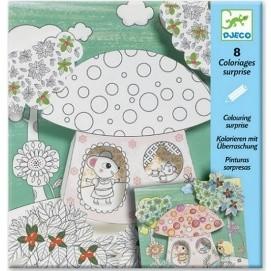 Kit Coloriage Fille.Dessin Coloriage Jouets Activites Creatives Loisirs Creatifs
