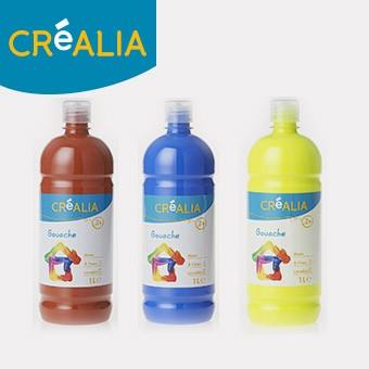Gouache 1 litre Créalia