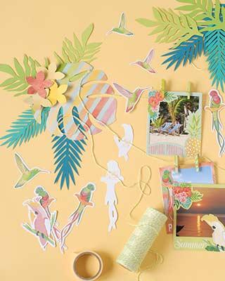 Tropical Paradise - Toga