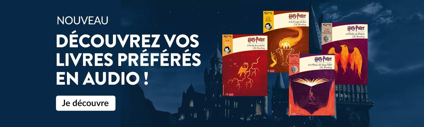 Livres CD Harry Potter