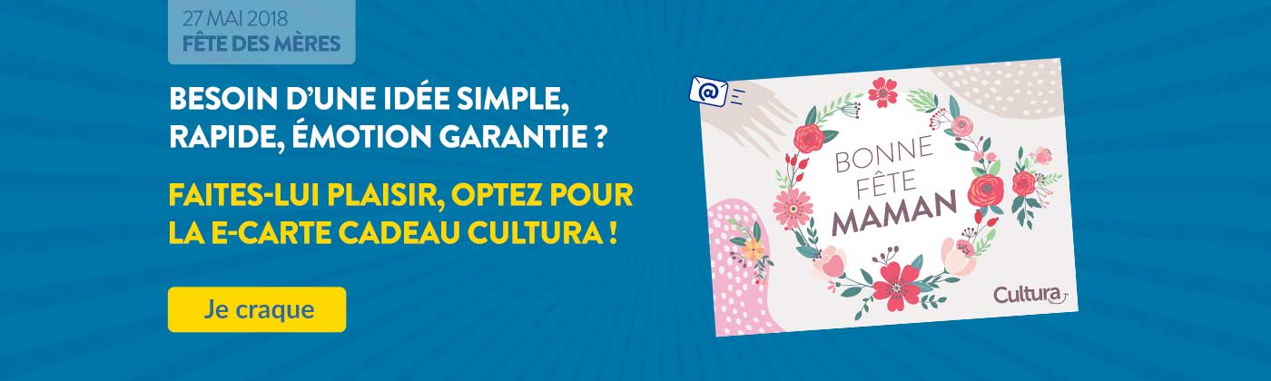Découvrez notre e carte cadeau Cultura aux couleurs de la Fête des mères