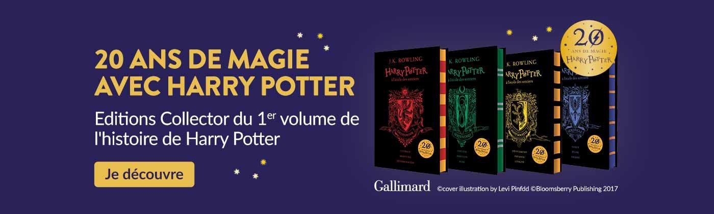 20 ans de Magie Harry Potter - 1er Volume en Edition Collector