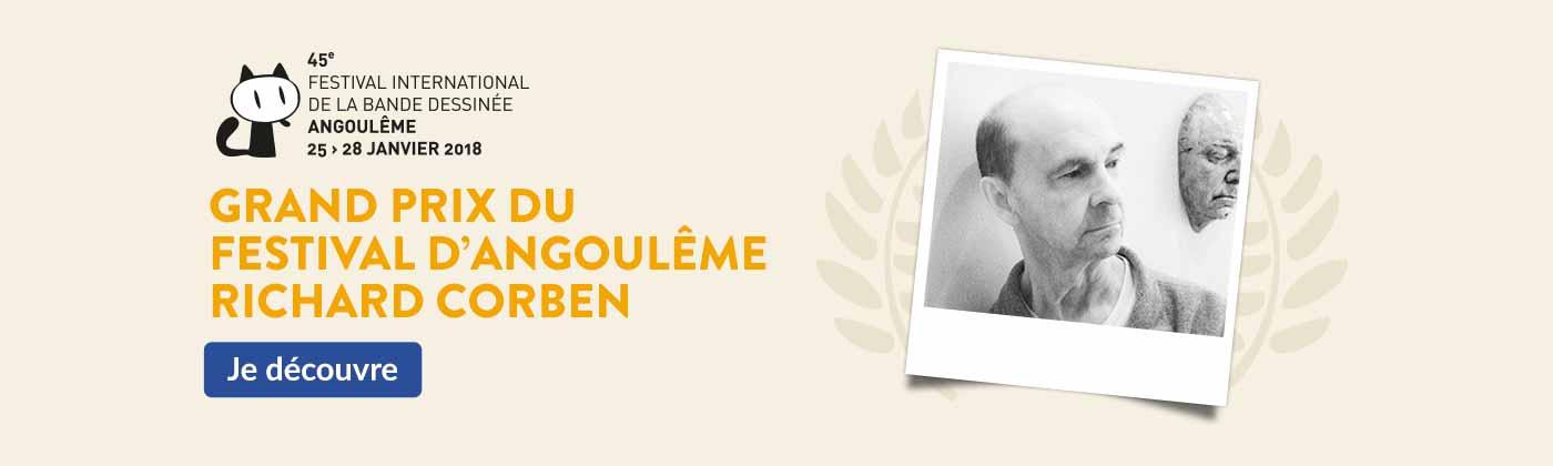 Grand Prix du Festival d'Angoulême - Richard Corben